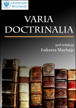 Varia doctrinalia